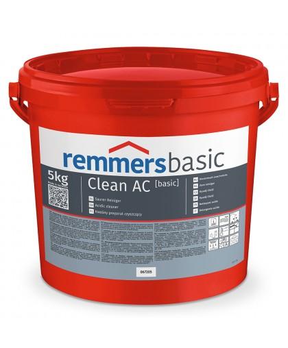 Очиститель Clean AC для удаления известковых и цементных загрязнений