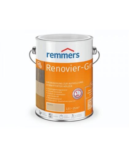 Грунт Renovier-Grund для восстанавления посеревшей древесины