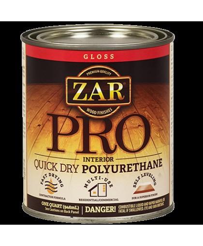 ZAR Быстросохнущий профессиональный полиуретановый лак для внутренних работ (ZAR PRO QUICK DRY POLYURETHANE)